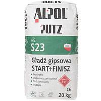 Шпаклівка гіпсова 2 в 1 Alpol Putz AG S23 20 кг