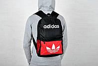 Яркий спортивный рюкзак адидас, рюкзак Adidas Red