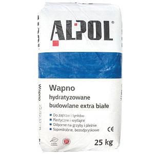 Вапно гашене гідратне Alpol Екстра біле 25 кг