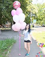 Нежный фонтан на день рождения