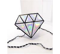 Эксклюзивная  женская сумочка геометрической формы, сумка алмаз