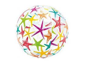 Надувной мяч Intex с красочной расцветкой, фото 2