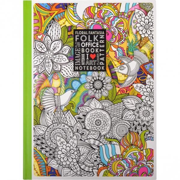 """Блокнот А4 """"Мандарин"""" 120 листов, интегральная обложка - Интернет-магазин Одесса ОПТ в Одессе"""