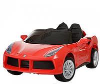 Детский электромобиль Porshe кожа EVA M 3284 EBLR