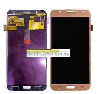 Модуль (сенсор + дисплей) Samsung J700F/DS Galaxy J7, J700H/DS Galaxy J7, J700M/DS Galaxy J7 high copy золотий
