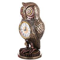 Часы настольные Veronese Филин 26 см 76683V4