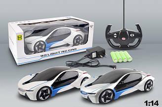 Машина аккумуляторная на радиоуправлении с 3D светом