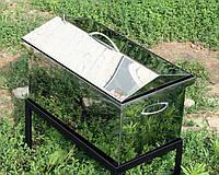 Коптильня с гидрозатвором крышка домиком