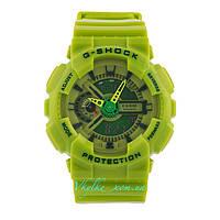 Спортивные часы Casio G-Shock GA-110 салатовый