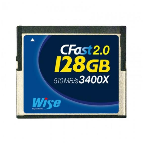 Карта памяти Wise CFast 2.0 Card 3400X blue 128 GB
