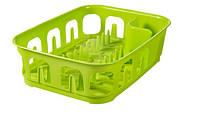 Сушилка для посуды маленькая , зеленая ESSENTIALS Curver 223898