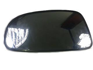 Зеркало наружное - стекло Авео 1-2 Т-200 левое мех с подогревом ориг, 96493577