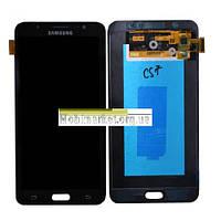 Модуль (сенсор+дисплей) для Samsung J710F, J710FN, J710H, J710M Galaxy J7 (2016) AMOLED чорний