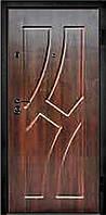Входные двери металлические, бронированные, с декоративной МДФ накладкой с одной стороны VARTA STANDART VS113