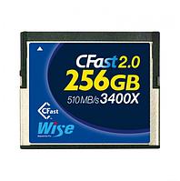 Карта памяти Wise CFast 2.0 Card 3400X blue 256 GB
