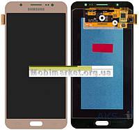 Модуль (сенсор+дисплей) для Samsung J710F, J710FN, J710H, J710M Galaxy J7 (2016) AMOLEDзолотий