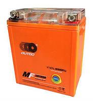 Аккумулятор МОТО OUTDO -7a (гель) оранжевый