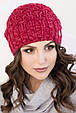 Женская шапка меланж «Софи», фото 2