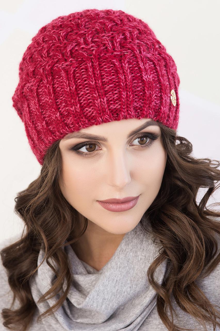 Женская шапка меланж «Софи»