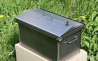 Коптильня с гидрозатвором и термометром   520х310х280   2мм