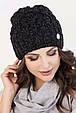 Женская шапка меланж «Софи», фото 4