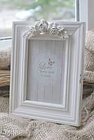Рамка для фото деревянная с декором