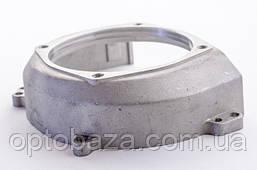 Крышка маховика - крепление верхнего редуктора (малая) для мотокос 40-51 см, куб, фото 3