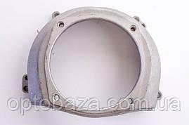Крышка маховика - крепление верхнего редуктора (малая) для мотокос 40-51 см, куб, фото 2