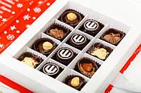 Коробка книга с шоколадом на 12 конфет, фото 1
