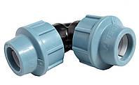 Отвод компрессионный соединительный Unidelta 25x25