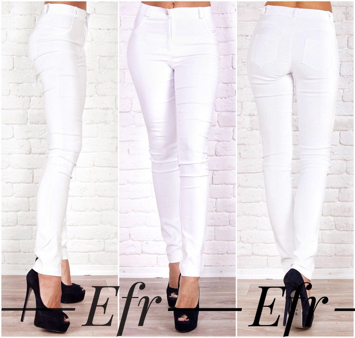 Женские джинсы с эффектом утяжки