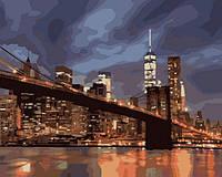 Картина по номерам Ночной Нью Йорк КНО2133 Идейка