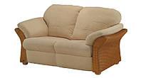 Двухместный кожаный диван DANTE (160 см)