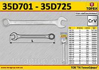 Ключ комбинированный 6мм,  TOPEX  35D701