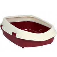 Trixie Primo XL туалет с бортиком для кошек 71*56*25 см