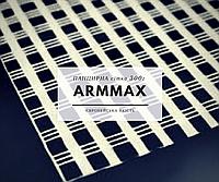 Сітка армуюча (панцирна) ТМ ARMMAX 300г/м2, 4*9 мм, 1*25 м (біла) 25 м2