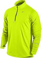 Футболка для бега Nike Element 1/2 Zip (L) С длинным рукавом.