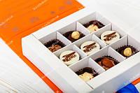 Коробка книга с шоколадом на 9 конфет