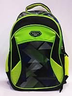 Рюкзак California черно-зеленый