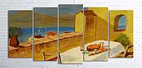 """Модульная картина на полотне """"Живопись. Морской пейзаж"""""""