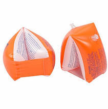 Надувные нарукавники для детей оранжевого цвета, Intex, фото 2