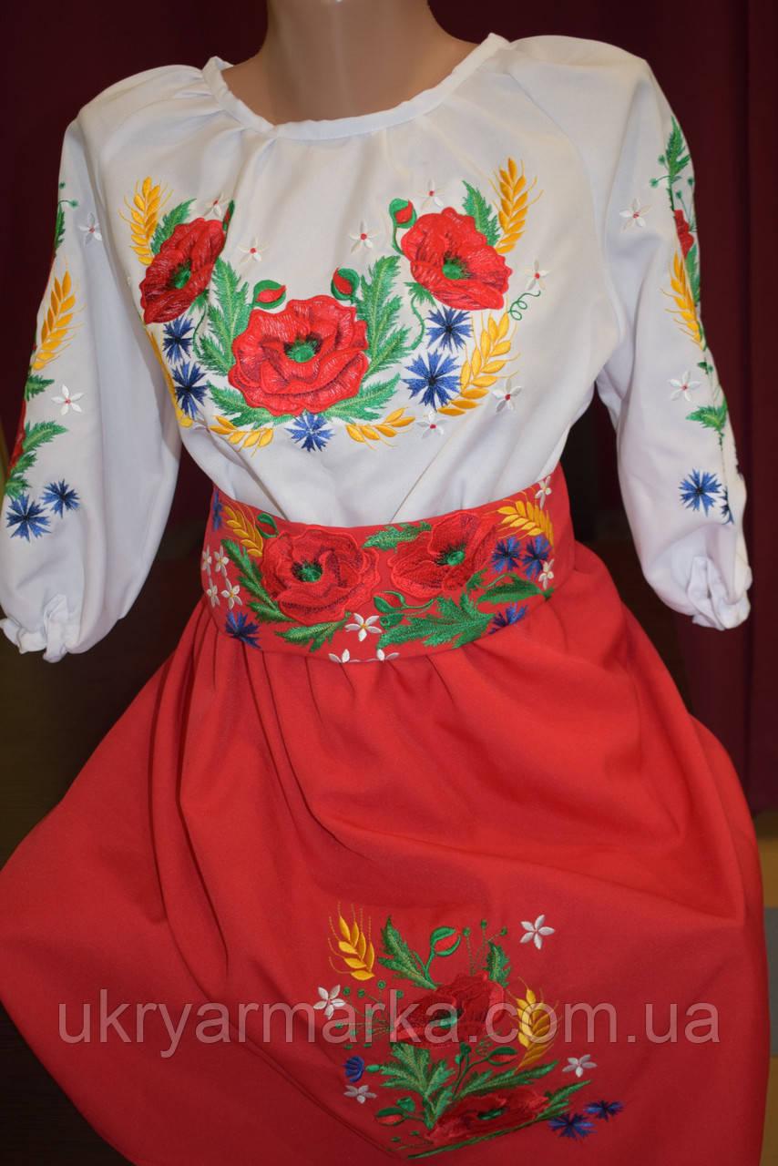 """Вишиване плаття для дівчинки """"Чарівність"""""""