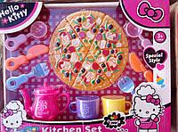 Чайный набор посудка+пицца