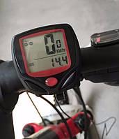 Велосипедный вело компьютер SunDing SD-548B, одометр, спидометр, 14 функций
