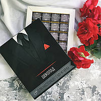 Шоколадный набор ДЛЯ НАСТОЯЩЕГО МУЖЧИНЫ 20 шоколадок