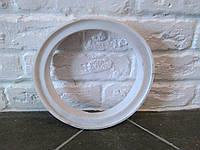 Прокладка силиконовая под пластиковую крышку доильного ведра.
