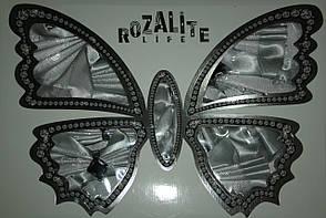 Скатерть Бабочка Rozalite life + 8 сервировочных салфеток, фото 2