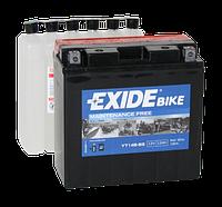 Аккумулятор мото EXIDE B/O 12V 12AH 190A YT14B-BS/ET14B-BS [150X70X145]