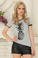Модные черные кожаные короткие женские шорты