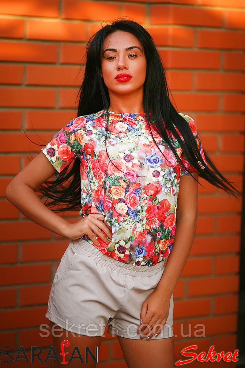Комбинезон канатики цветы шорты вес, фото 1